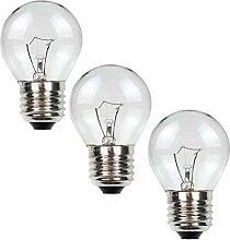 SOLUSTRE 3Pcs Mikrowelle Lampen E27 40W Hohe