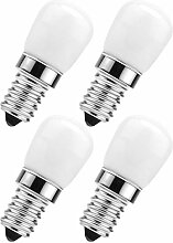 SOLUSTRE 4Pcs LED Kühlschrank Birne E14