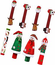 SOLUSTRE 8Pcs Weihnachten Kühlschrank