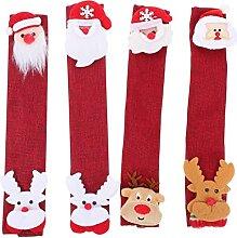 SOLUSTRE Weihnachten Kühlschrank Griff Covers