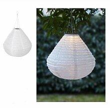 Solvinden Solar Hängeleuchte Ikea LED weiß 45cm
