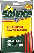 Solvite Tapetenkleister extra stark Tapete selbstklebend 10Rolle Pack
