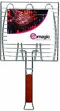 Somagic so450210Doppelter Grillrost Fischbesteck
