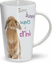 Some Bunny - Mug - Becher - Latte