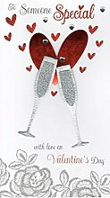 Someone Special Handmade Valentine's Card by