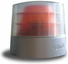 Somfy-Leuchte orange Master Prorobuste 24 V auto Blinker Somfy 9014377, integrierte antenne