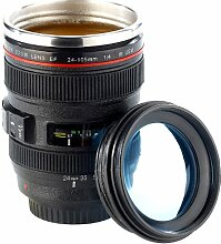 Somikon Objektiv Becher: Kameraobjektiv-Becher,