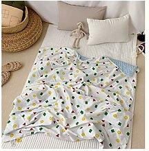Sommer Baby Baumwolle Dünne Decke, Baby Decke