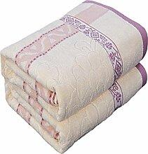 Sommer Handtuch/ Baumwolldecke/Double einzelne Decke/ Kinder Handtuch Decke/ Klimaanlage/ Decke/ Decke/Decken/ cool im Sommer-G 200x230cm(79x91inch)