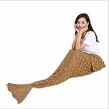Sommer Klimaanlage Decke schöne Fische Decke Sofa Decke Freizeit Nickerchen Decke,C,190 * 90CM