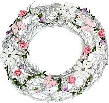 Sommer Kranz Kranz für die Tür Türkranz Blumen