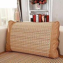 Sommer Mat Umarmung Kissenbezug/Modernen minimalistischen Stil Kissen/Sofa-Bett Umarmung Kissenbezug-A 80x80cm(31x31inch)VersionB