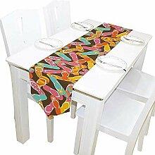 Sommer Muster Tischläufer, Tischdecke Läufer