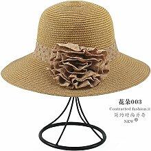 Sommer Sonne koreanischen Strand Sonnenschirm Sonnenschutz White hat Gras