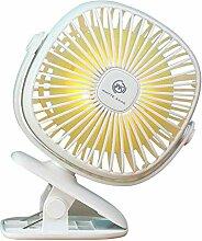Sommer-Usb-Kleiner Ventilator, Wiederaufladbarer