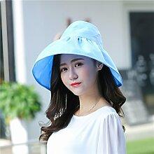 Sommer weiblich Sonnenschutz H¨¹te Die koreanische Version des Visor Leeren Sie das obere Hut Uv-rim Faltbare Strand tide Kappe