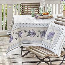 Sommerliche Lavendel-Tischdecke aus der Provence