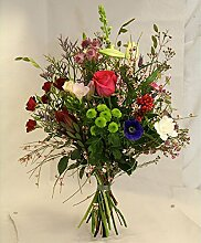 Sommerlicher Blumenstrauß Glücksmomente Size 75