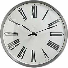 sompex Clocks Wanduhr Amsterdam, Farbe:weiß