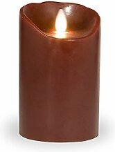 Sompex Flame Echtwachs LED Kerze, fernbedienbar &