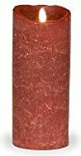 sompex Flame LED Kerze 8x23 Bordeaux|Echtwachs