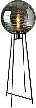 Sompex STEHLEUCHTE , Schwarz , Glas , 117 cm ,
