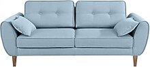 SomProduct Sofa, fest bezogen mit Stoff, 2-Sitzer,