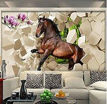 Sondergröße Moderne Kreative 3D Gebrochene Wand