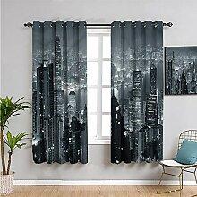 SONGDAYONE City Verdunkelungsvorhang für Fenster,