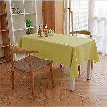SONGHJ Einfarbig Polyester Tischdecke Esszimmer