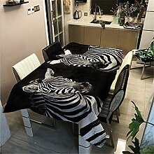SONGHJ Polyester Baumwolle Zebra Animal Print
