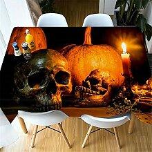 SONGHJ Polyester Tischdecke Halloween Tischdecke