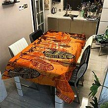 SONGHJ Tischdecke mit Polyester-Baumwolldruck