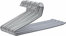 SONGMICS 20 Stück Hosenbügel aus Metall,