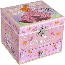 SONGMICS Ballerina Spieldose für Kinder,