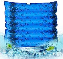 Songven Wasserkissen für Stuhl Dunkelblau, 48 x