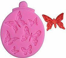 SONGWJ 1 STÜCK Schmetterling form silikon