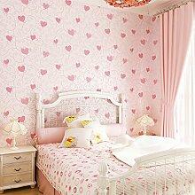 songying Kinderzimmer Vliestapete Rosa Prinzessin