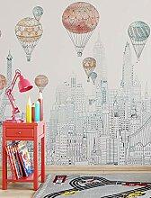 songying Nordic Heißluftballon Tapete