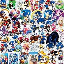 Sonic Aufkleber, The Hedgehog Cartoon-Aufkleber,
