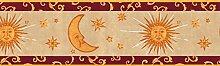 Sonne Mond und Sterne Tapete Bordüre b95809