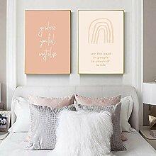 Sonne und Mond Kunstdruck moderne Plakat Boho