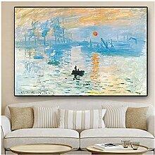 Sonnenaufgang Gemälde auf Leinwand Berühmte