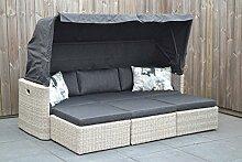 Sonnenbett outdoor Polyrattan Lounge