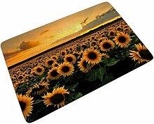 Sonnenblume Sonnenuntergang Fußmatte Türmatte