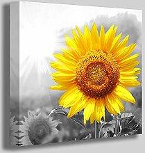Sonnenblumen-Wandkunst, Badezimmer-Dekor,