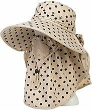 Sonnenhüte Elektrisches Auto Sonnenschutz Damen Freizeit Wild Cover Gesicht Schutz Sonnenschutz UV Hut Sommer Strand Schirmmütze ( Farbe : 5 )