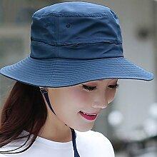 Sonnenhute YANFEI Visier-Hut zusammenklappbarer Sonnenschutz UV-Schutz Fischen-Hut (Farbe : D)