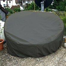 Sonneninsel Schutzhülle Oval 235cm Anthrazit