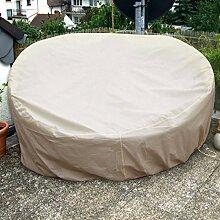 Sonneninsel Schutzhülle Oval 235cm Beige/Creme